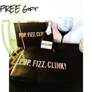 🦄 RARE 🦄 Authentic Kate Spade ♠️ Pop,Fizz,Clink
